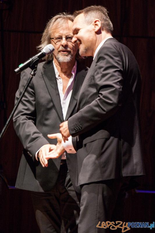 Jan A.P. Kaczmarek i Tomasz Kayser - Transatlantyk - gala otwarcia (8.08.2014) CK Zamek  Foto: © lepszyPOZNAN.pl / Karolina Kiraga