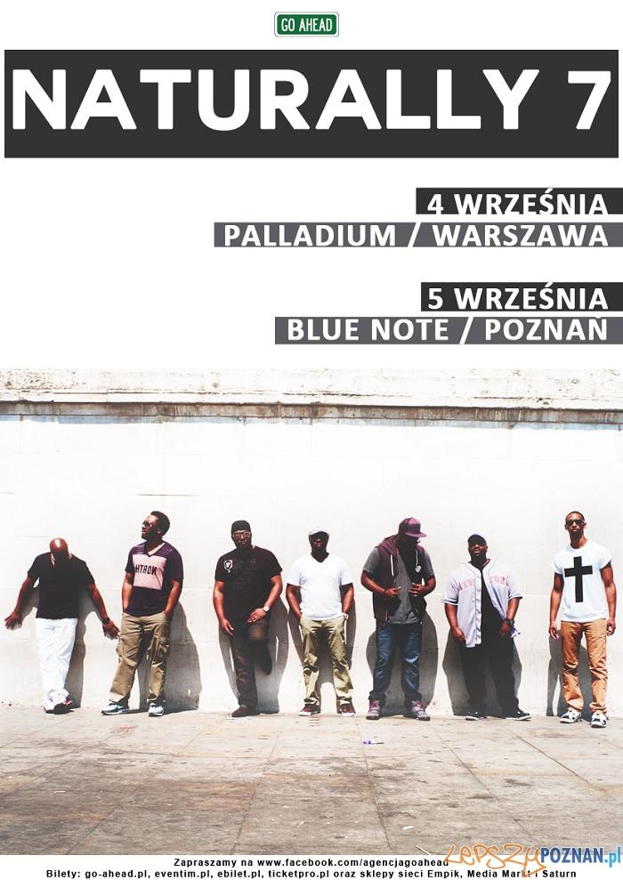 Naturally 7 na koncertach w Poznaniu  Foto: mat. organizatora / Go Ahead