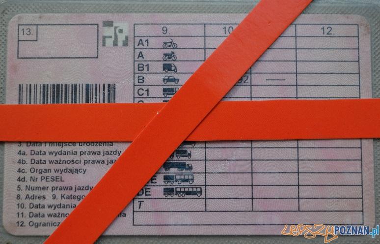 Prawo jazdy  Foto: KM Policji