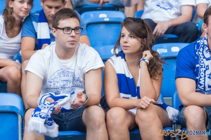 Liga Europejska - Lech Poznań - Stjarnan FC (najlepsi kibice na świecie)  Foto: lepszyPOZNAN.pl / Piotr Rychter