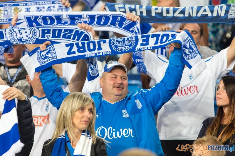 5. kolejka T-Mobile Ekstraklasy - Lech Poznań - Pogoń Szczecin (najlepsi na świecie kibice)  Foto: lepszyPOZNAN.pl / Piotr Rychter