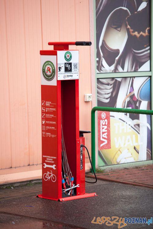 Stacja naprawy rowerów  Foto: Auchan/materiały prasowe