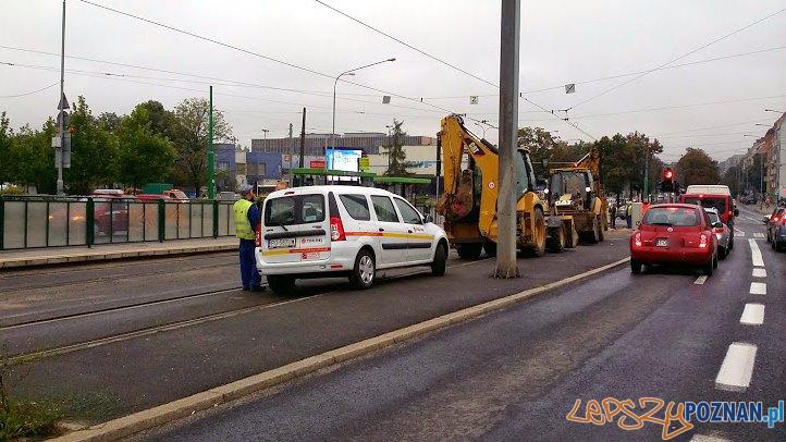 Przygotowania do prac przy AWFie  Foto: lepszyPOZNAN.pl