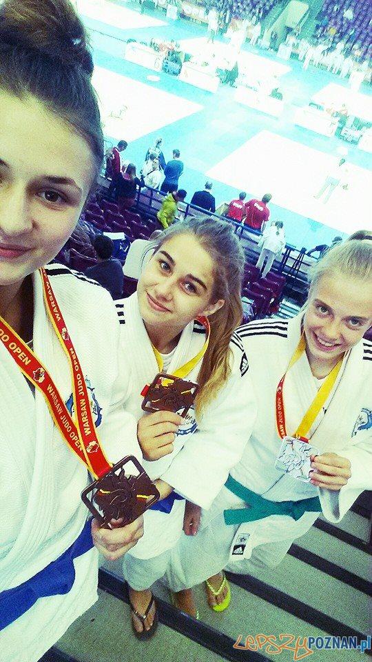Brazowe zawodniczki Akademii Judo  Foto: