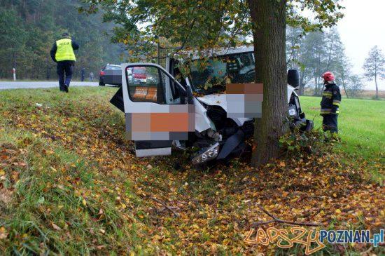 Wypadek w miejscowości Kuklinów  Foto: Szymon Kujawa