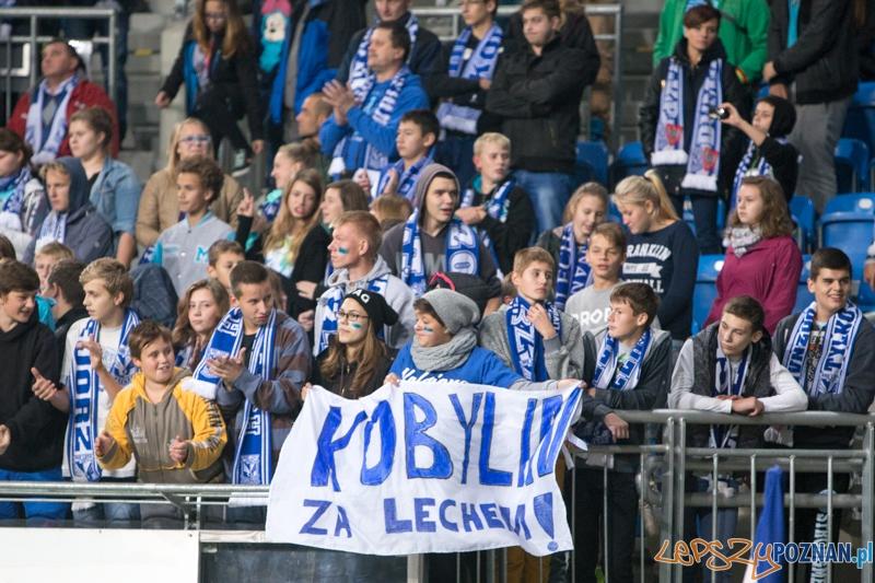 11. kolejka T-Mobile Ekstraklasy Lech Poznań - GKS Bełchatów (kibice na meczu)  Foto: lepszyPOZNAN.pl / Piotr Rychter