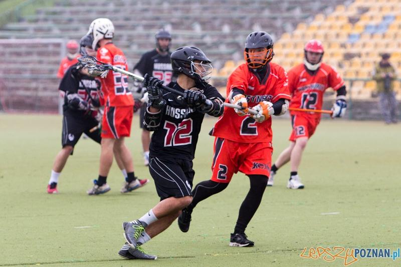 Polska Liga Lacrosse - Poznań Hussars vs Kosynierzy Wrocław  Foto: lepszyPOZNAN.pl / Piotr Rychter