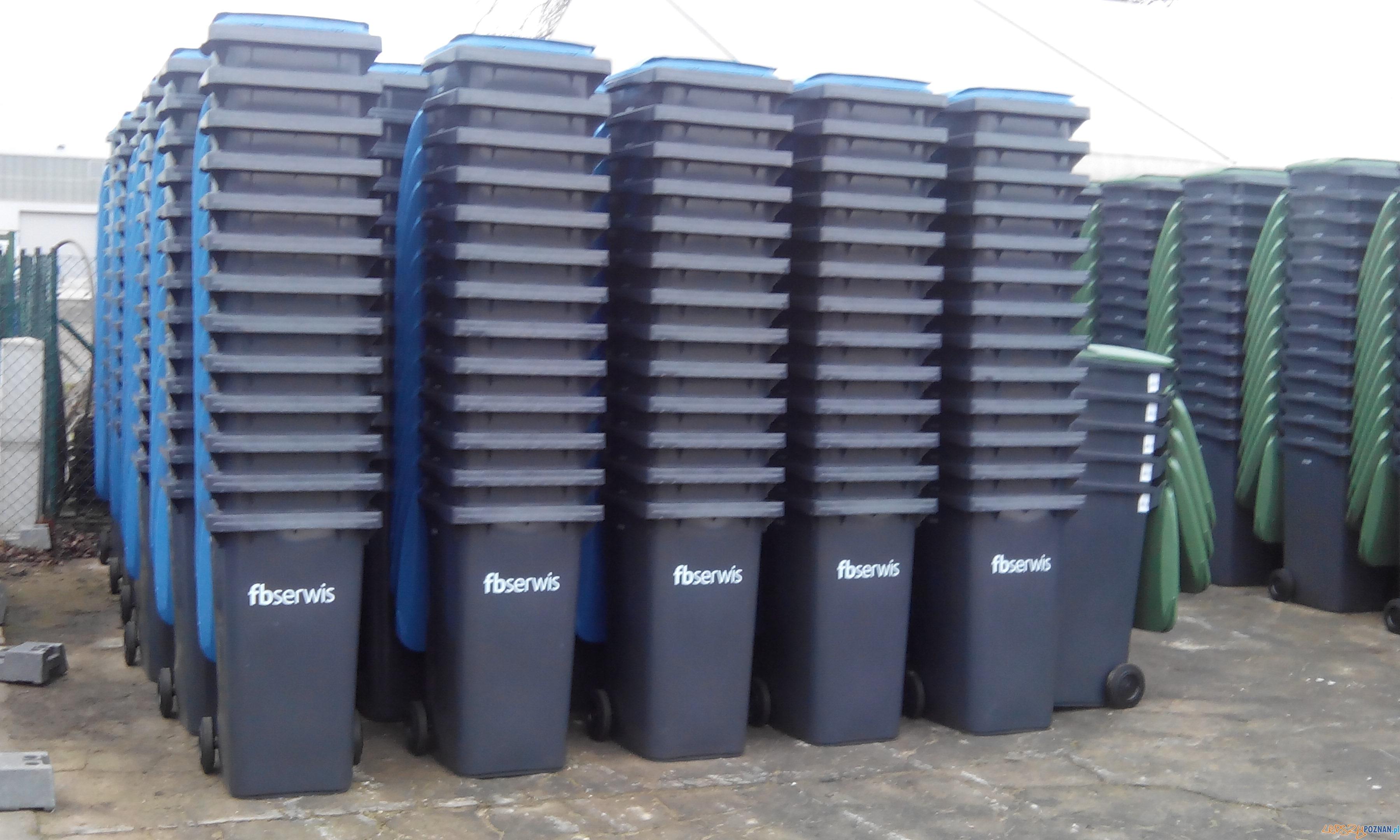 Pojemniki na śmieci  Foto: GOAP