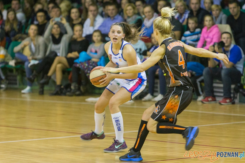 Poznań City Center AZS - UKS Basket Aleksandrów Łódzki  Foto: lepszyPOZNAN.pl / Piotr Rychter