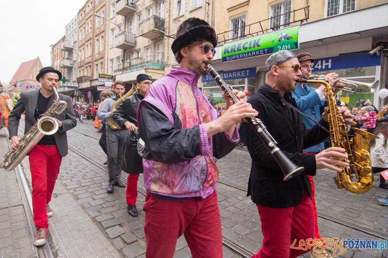 Korowód z okazji imienin ulicy Świety Marcin  Foto: lepszyPOZNAN.pl / Piotr Rychter
