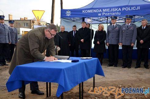 Szkieły z Lubonia będą miały nowy komisariat  Foto: UM Lubonia