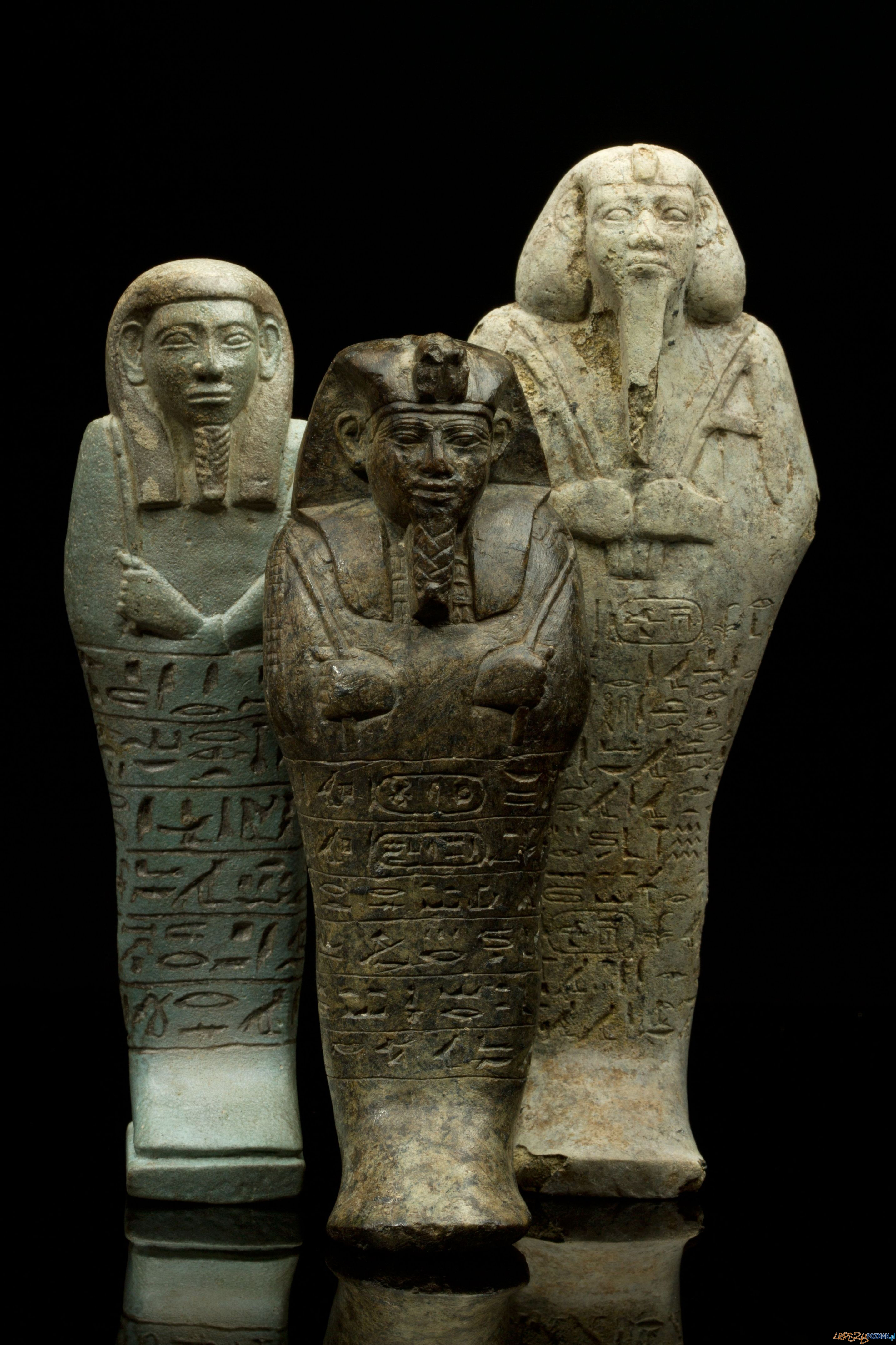 Uszebti królewskie z Nuri, Sudan, datowane na VII w. p.n.e.  Foto: M. Jórdeczka