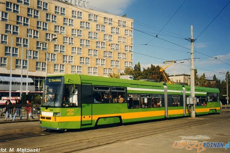 Tatra przy Merkurym Foto: MPK Poznań