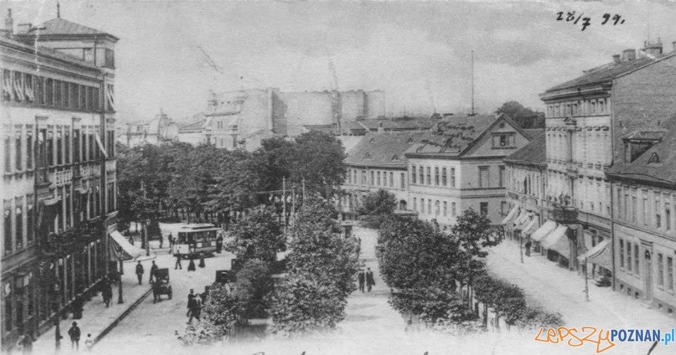 Aleje Marcinkowskiego - 1899  Foto: Biblioteka UAM
