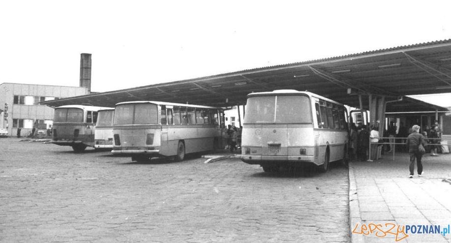 Dworzec PKS w Poznaniu (1982)  Foto: Archiwum PKS