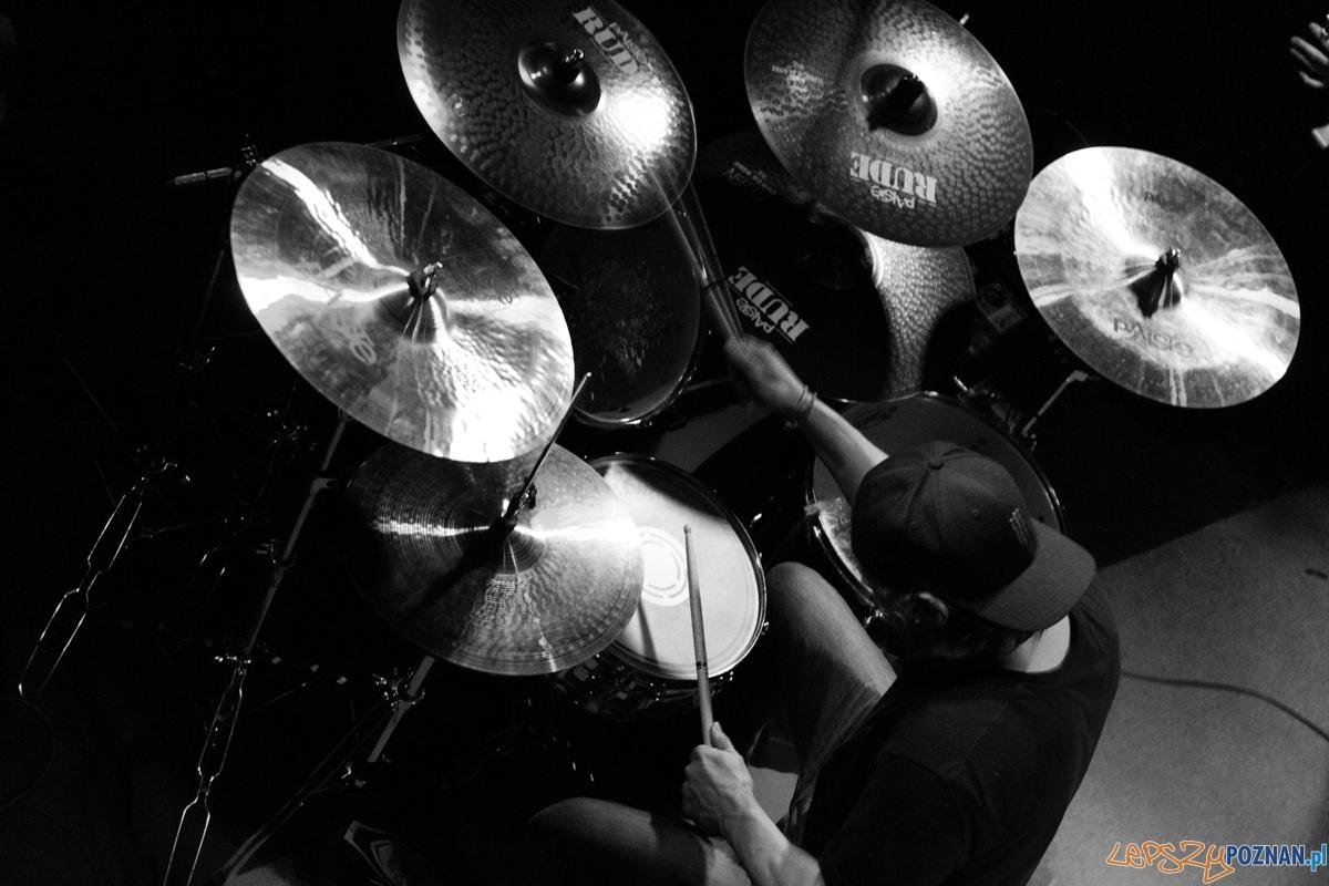 PHILM (Dave Lombardo) w Blue Note - Poznań 13.03.2015 r.  Foto: LepszyPOZNAN.pl / Paweł Rychter