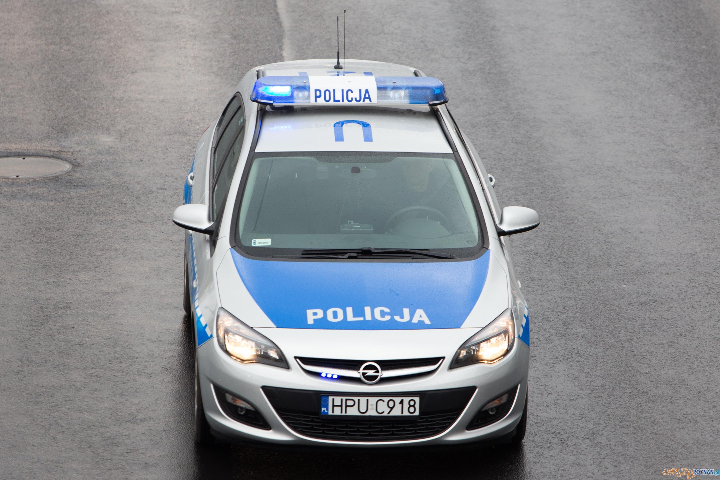 Policja  Foto: lepszyPOZNAN.pl / Piotr Rychter