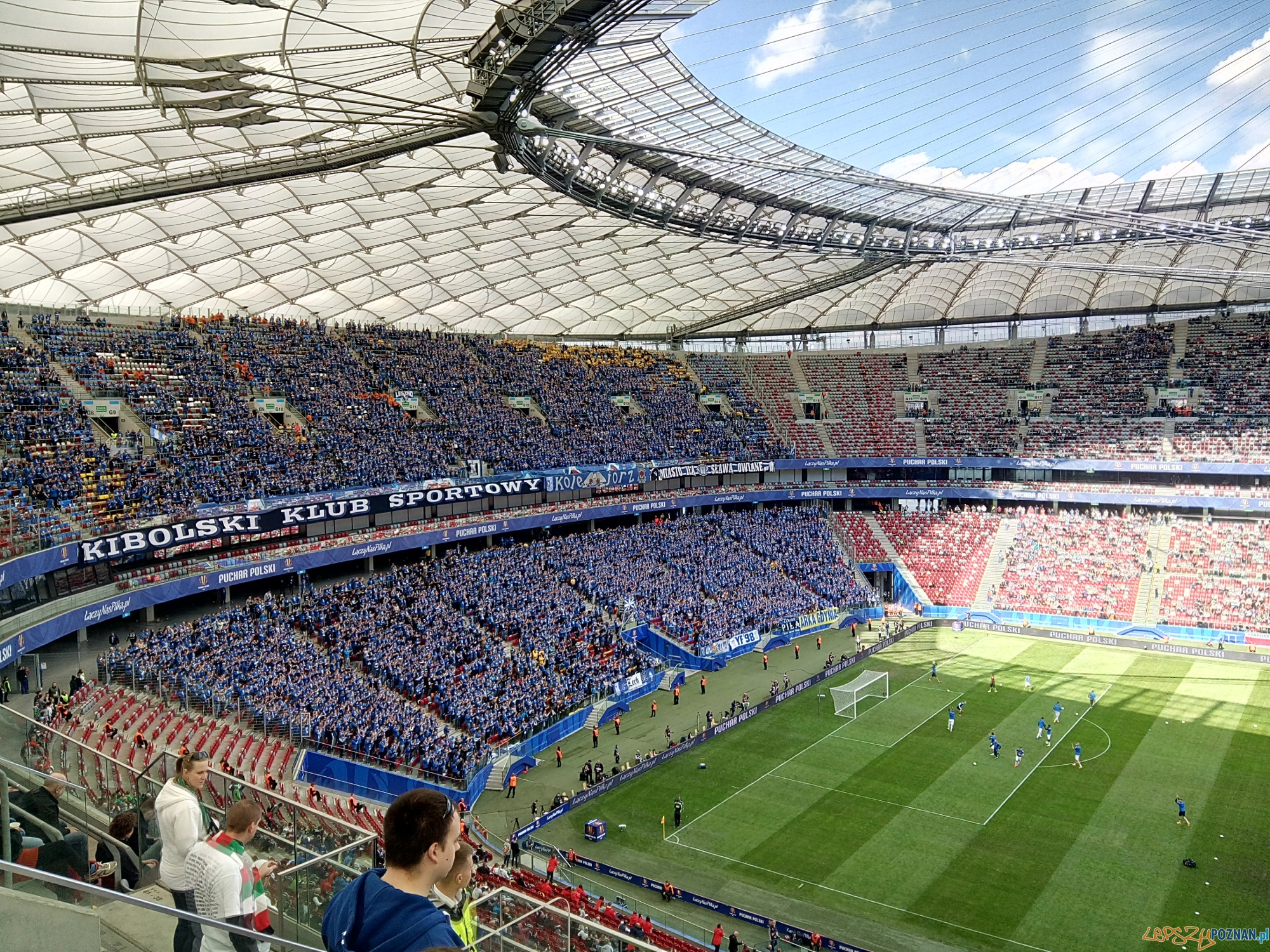 Finał Pucharu Polski Stadion Narodowy  Foto: lepszyPoznan.pl / Piotr Rychter