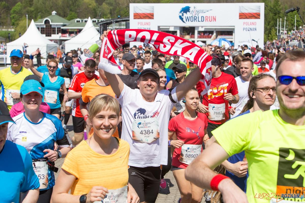 Wings For Life World Run - Poznań 2015  Foto: lepszyPOZNAN.pl / Piotr Rychter