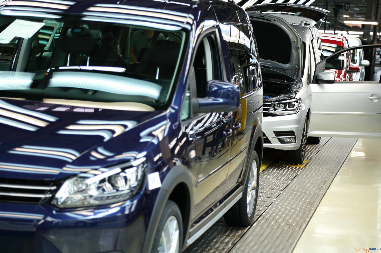 Ostatni (taki) caddy  Foto: VW Poznań