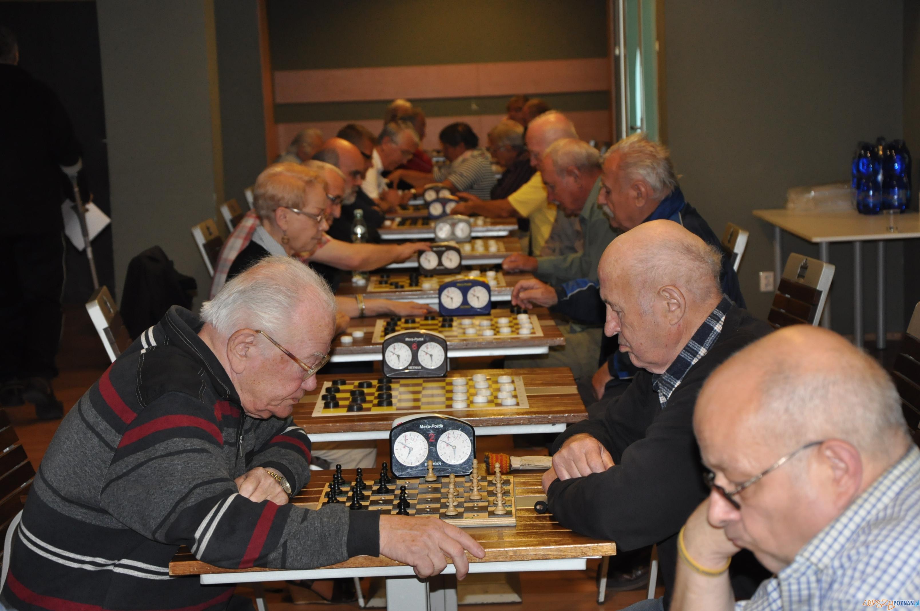 Spartakiada Seniorow - szachy  Foto: POSiR