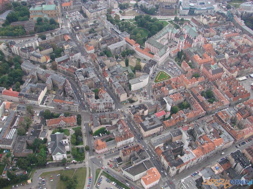 Stare Miasto z lotu ptaka  Foto: lepszyPOZNAN / AG
