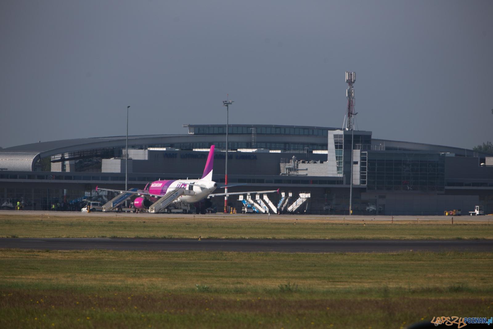 Lotnisko Ławica  Foto: lepszyPOZNAN.pl /Piotr Rychter