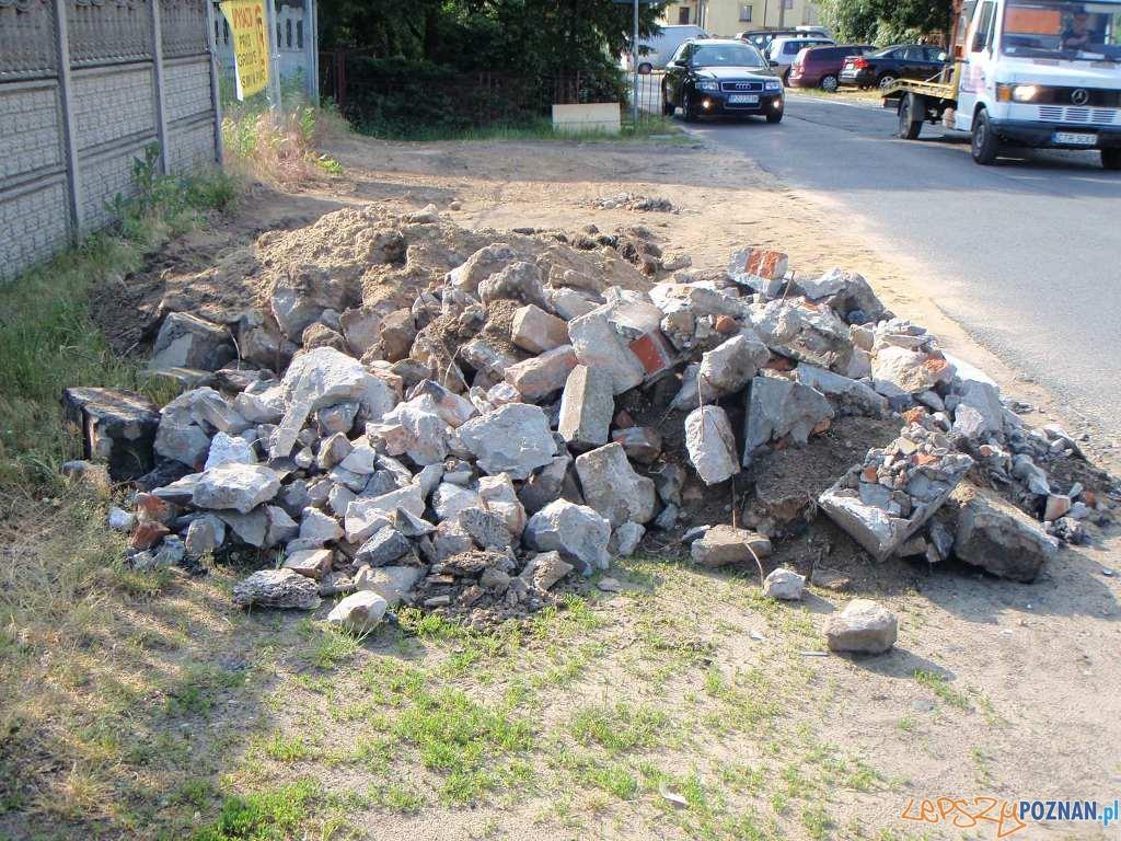 Śmieci nadal lądują w lesie  Foto: Straż Miejska w Poznaniu