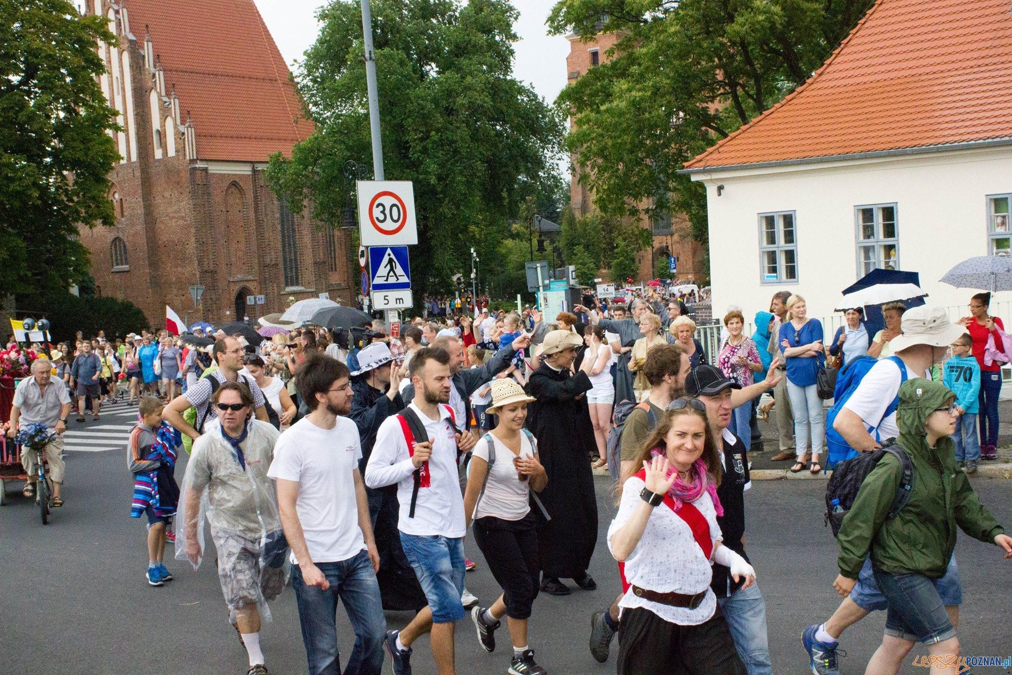 Pielgrzymi z Poznania wyruszyli na Jasną Górę  Foto: facebook / Poznańska Piesza Pielgrzymka