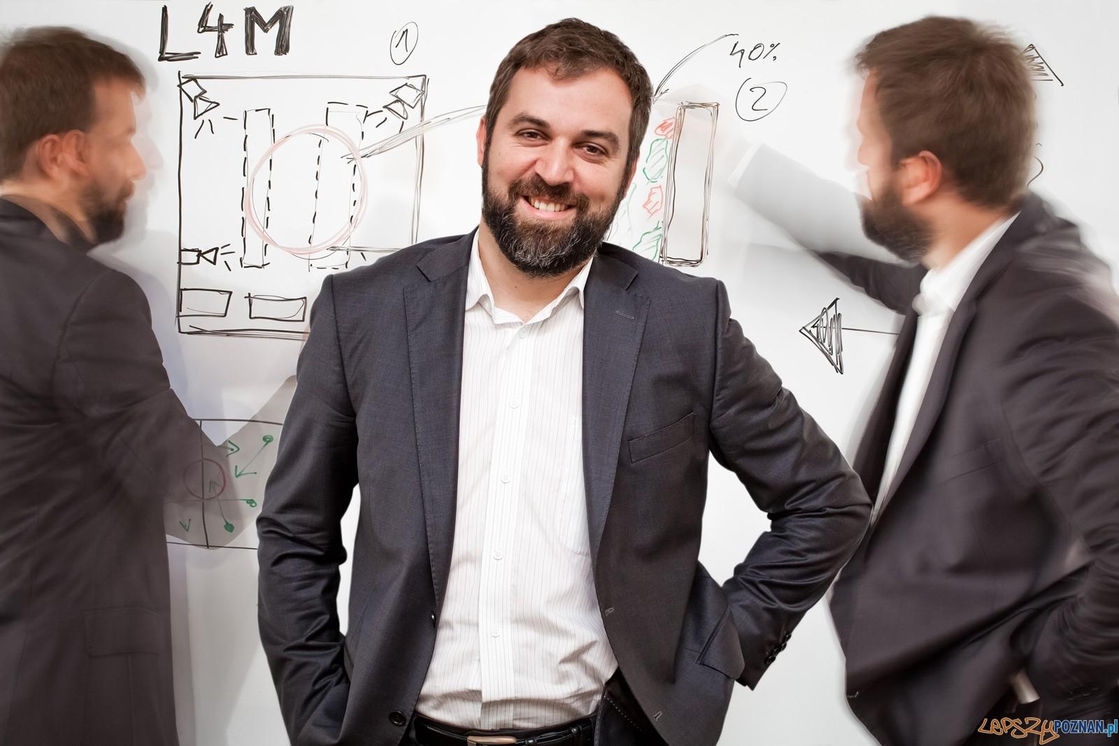 Michał Kowalski (współzałożyciel i CEO Lab4Motion)  Foto: Lab4Motion