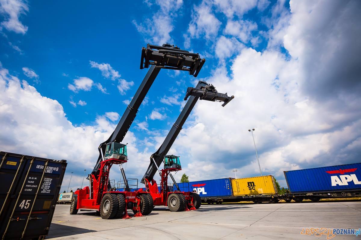Rozpoczęła się rozbudowa terminala kontenerowego na Franowie  Foto: PKP Cargo / Marek Zakrzewski / Marek Zakrzewski