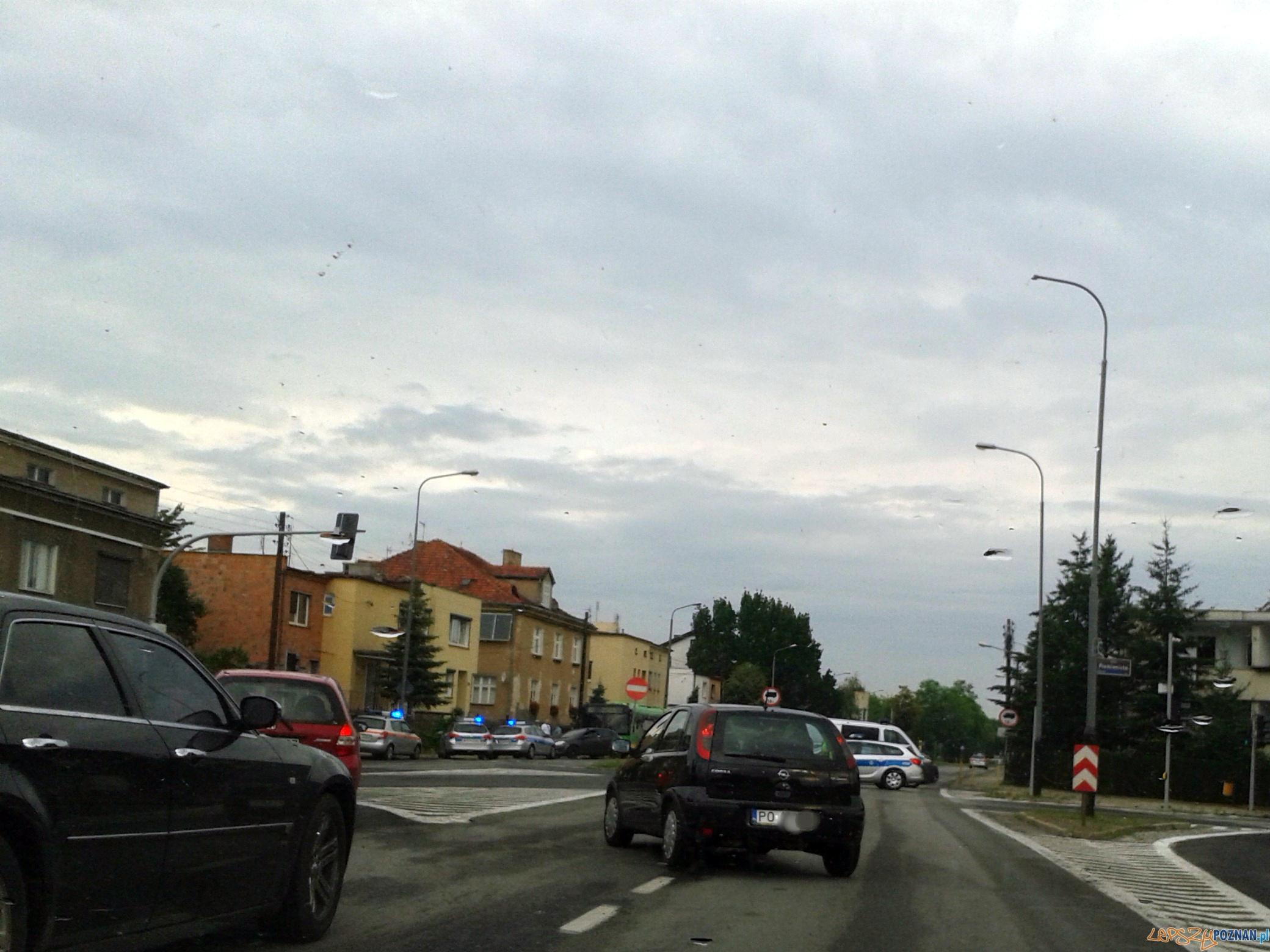 Nożownik w autobusie  Foto: lepszyPOZNAN.pl