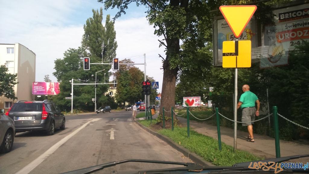 Sygnalizacja na skrzyżowaniu Ubranowskiej z Wojska Polskiego  Foto: Straż Miejska