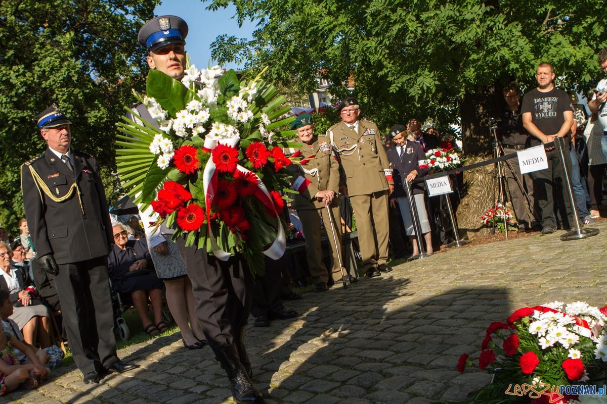 Obchody 71 rocznicy Powstania Warszawskiego - Poznań 01.08.2015 r.  Foto: LepszyPOZNAN.pl / Paweł Rychter