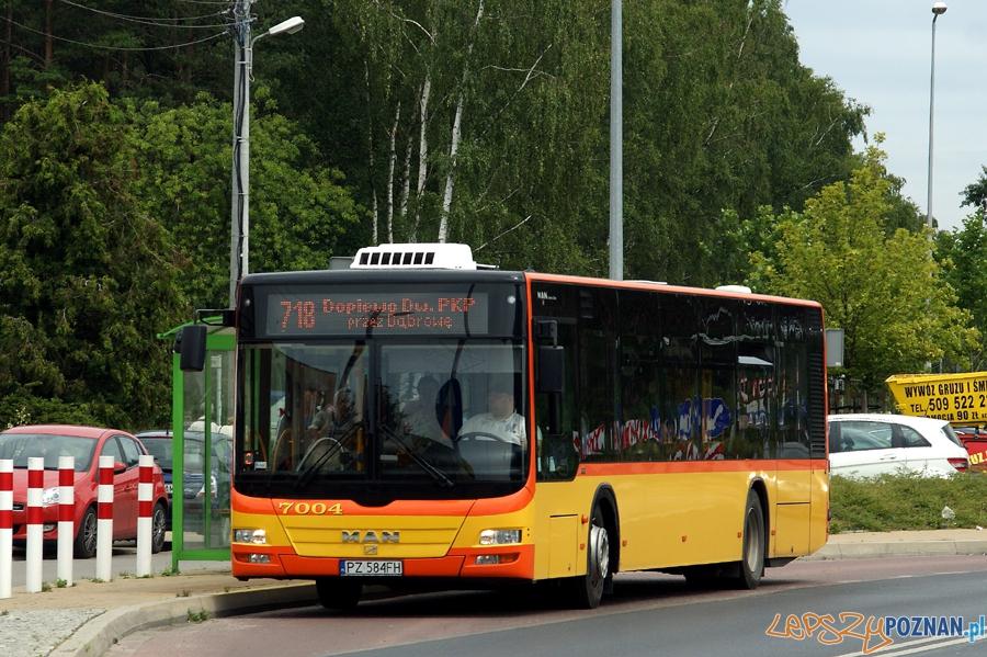 Autobus w Dopiewie  Foto: Gmina Dopiewo