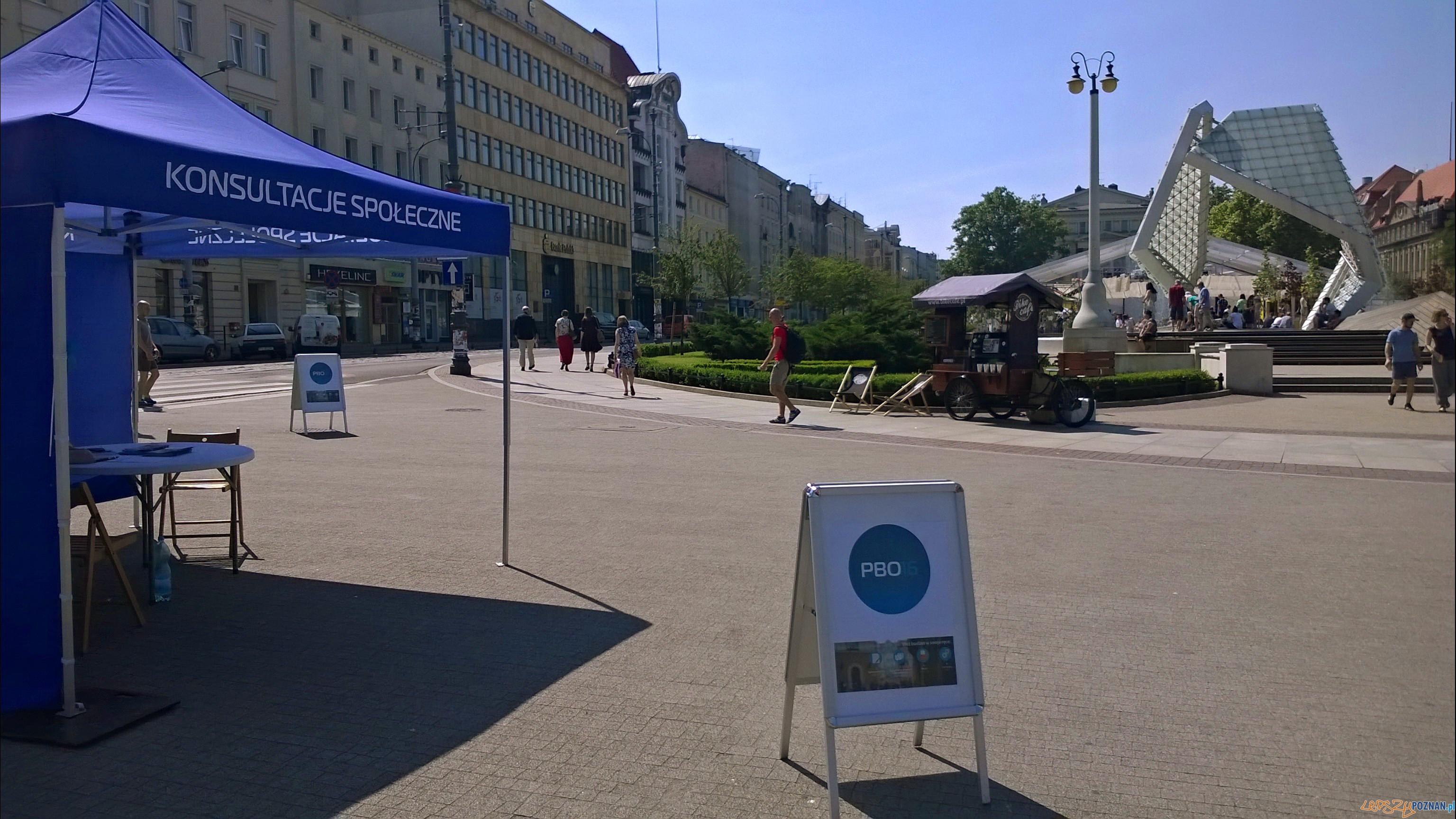 Plac Wolnosci - budzet obywatelski  Foto: lepszyPOZNAN / TD