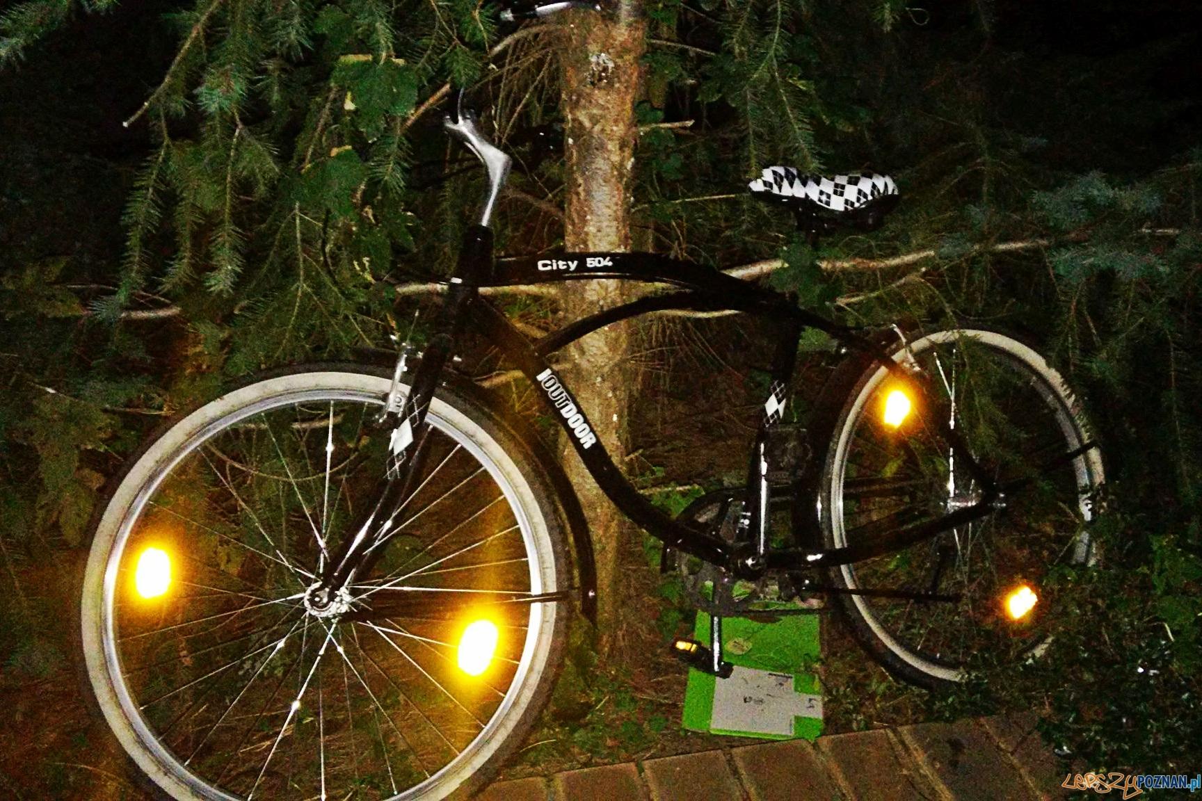 Odbił rower złodziejom!  Foto: Krzysztof
