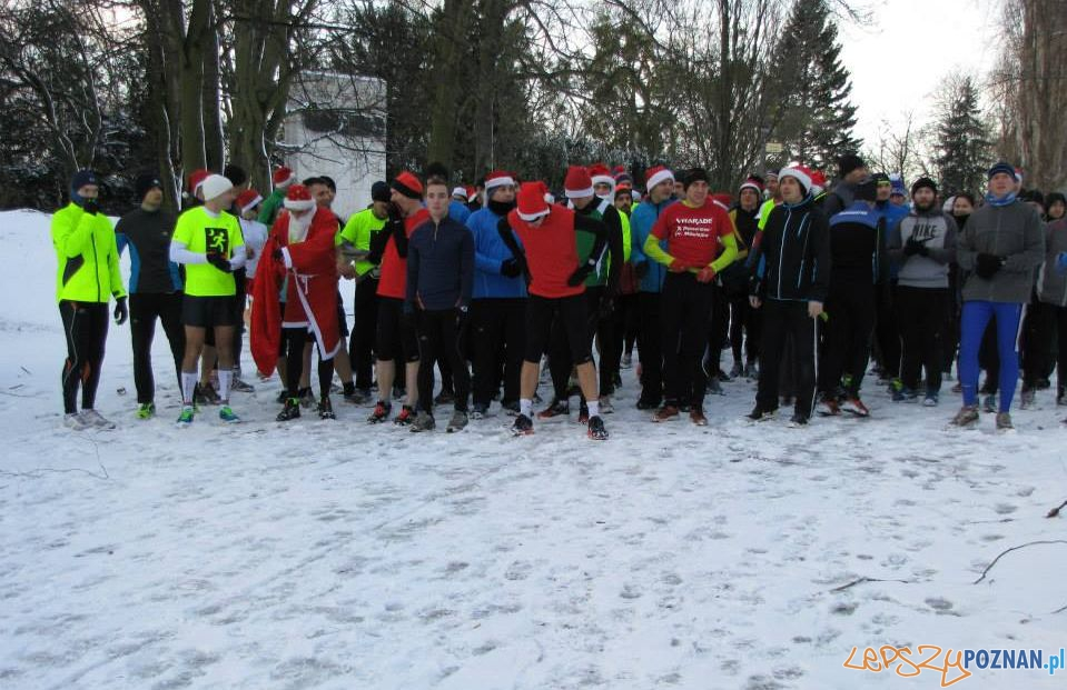 Zimowe bieganie na Cytadeli  Foto: Parkun Poznań / facebook