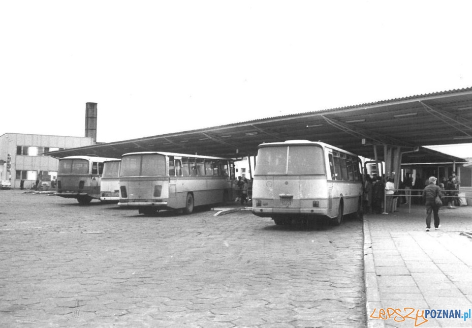 Dworzec PKS - lata 70.te  Foto: materiały archiwalne PKS