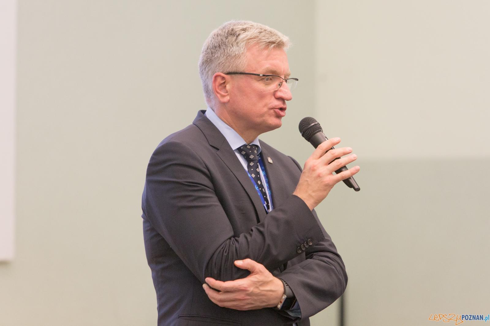 Spotkanie Prezydenta Jaśkowiaka z mieszkańcami Starego Miasta  Foto: lepszyPOZNAN.pl / Piotr Rychter