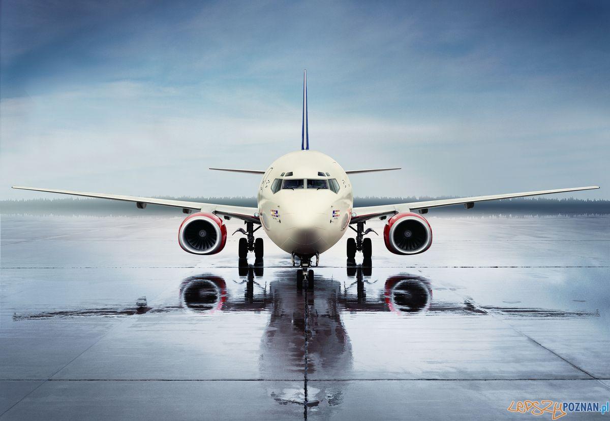 SAS - samolot skandynawskich liniilotniczych  Foto: materiały prasowe SAS