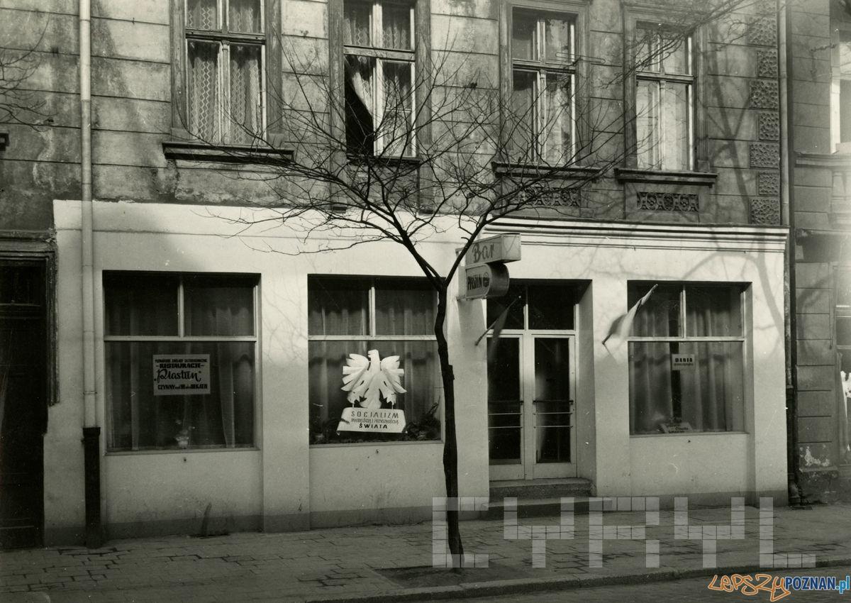 Bar Piastun na Kraszewskiego 1960-69  Foto: Cyryl / Kronika Miasta Poznania
