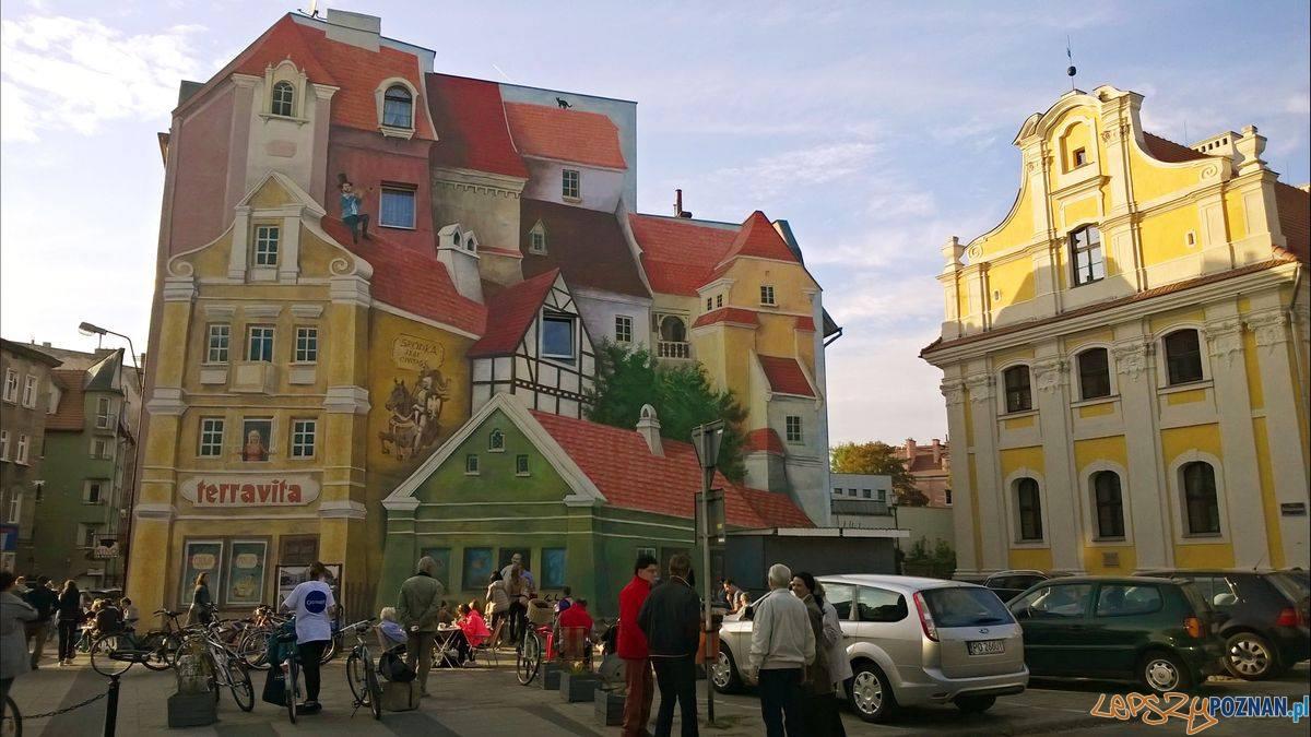 Śródka - mural  Foto: lepszyPOZNAN.pl / TD