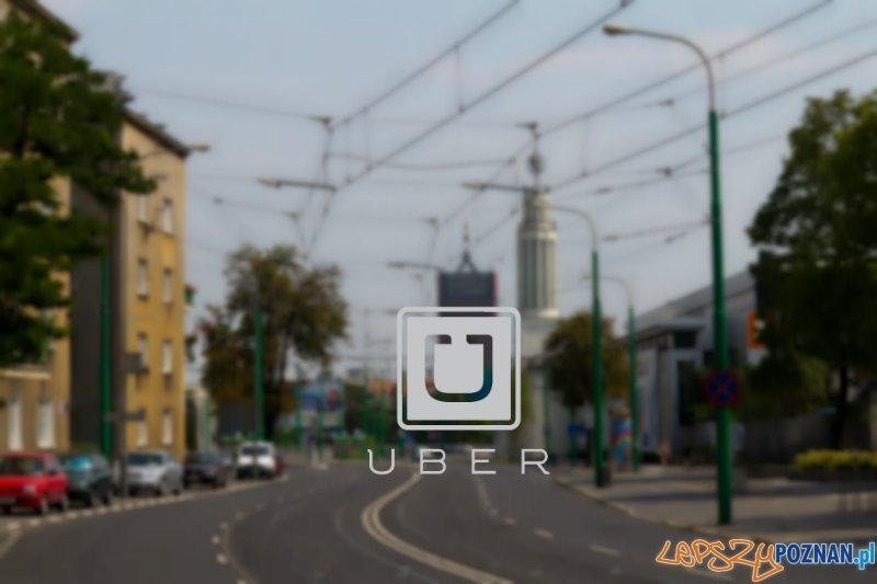 Uber w Poznaniu  Foto: lepszyPOZNAN.pl