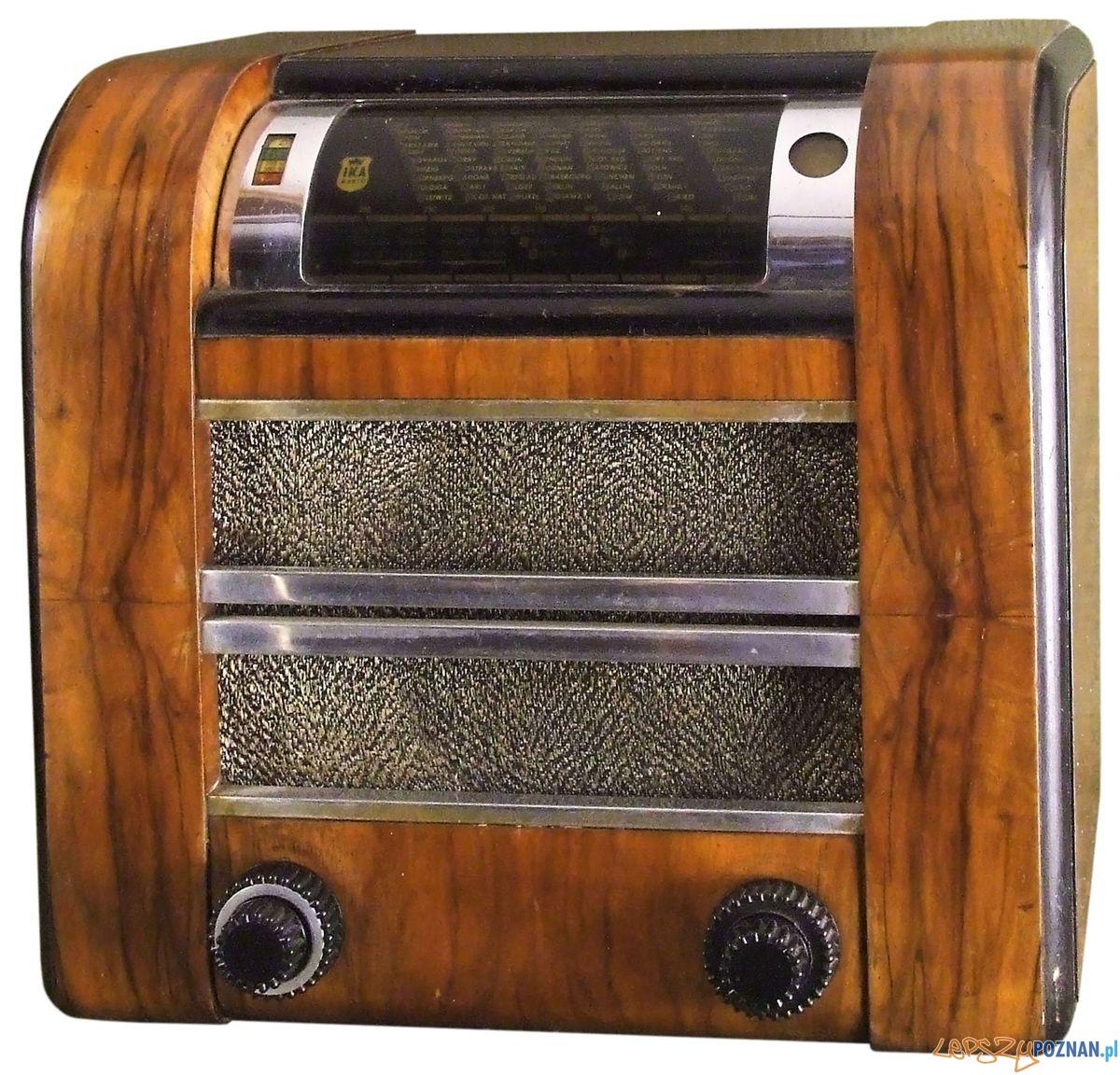 Radioodbiornik PL IKA 67 Z 1937 r. z kolekcji Jacka Bochińskiego  Foto: MNP