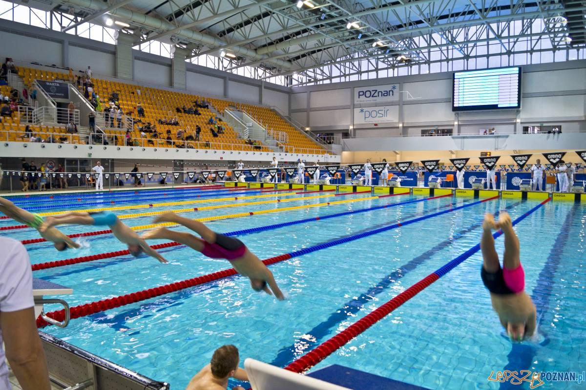 Pływacy w Termach Maltańskich  Foto: