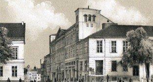 Hotel Bazar 1871 r.  Foto: Rys. R. Geissler - fotopolska