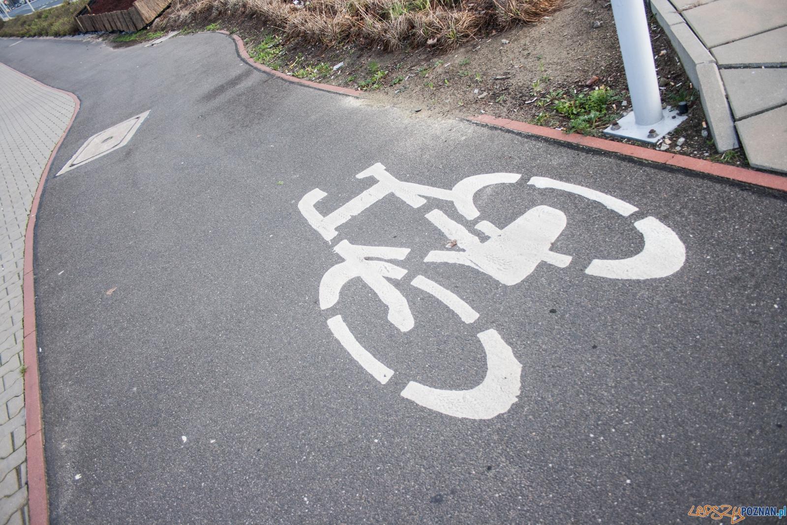 Droga rowerowa / ścieżka rowerowa  Foto: © lepszyPOZNAN.pl / Karolina Kiraga