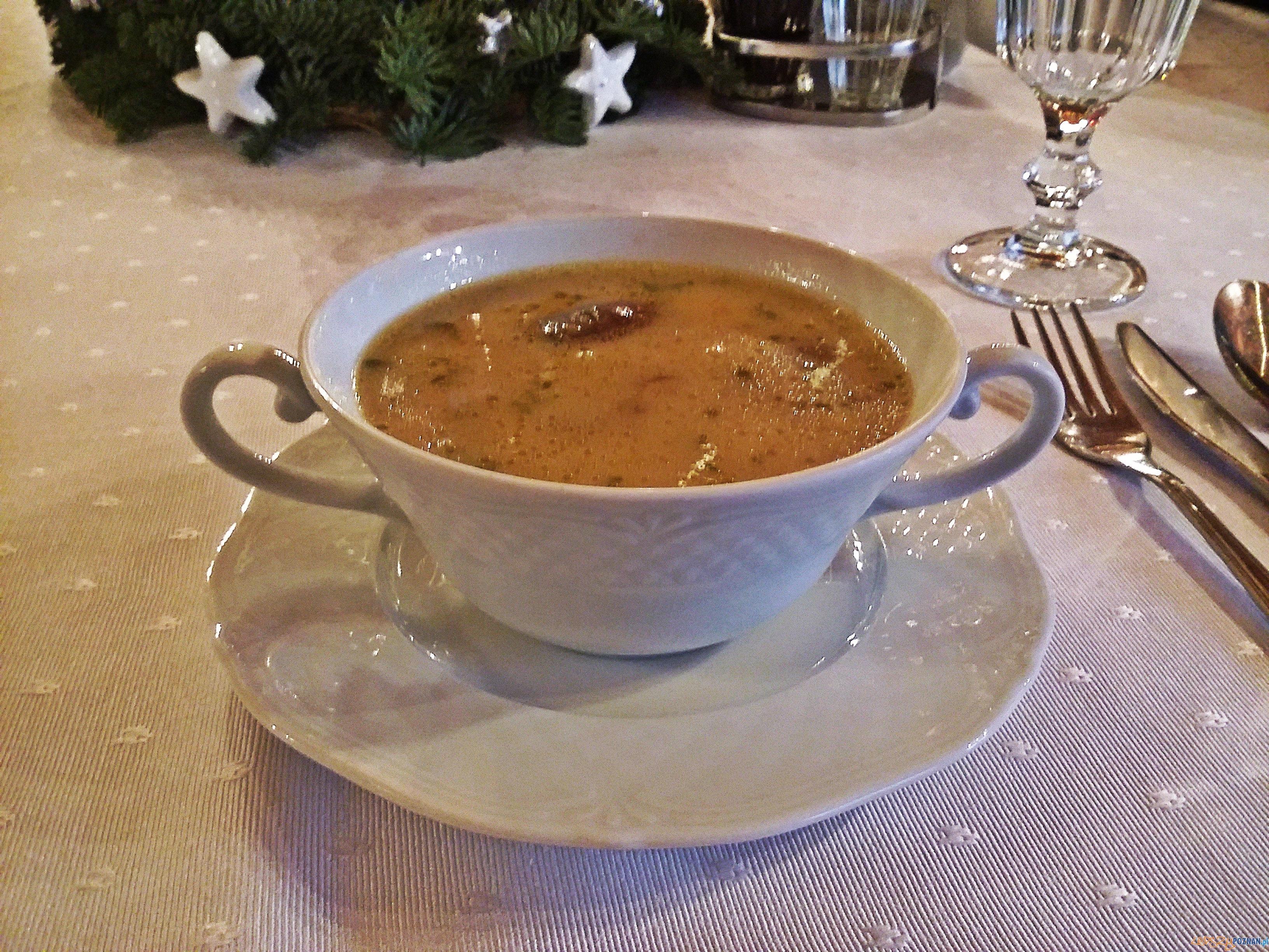 Zupa grzybowa na koniaku  Foto: lepszyPOZNAN.pl / tab