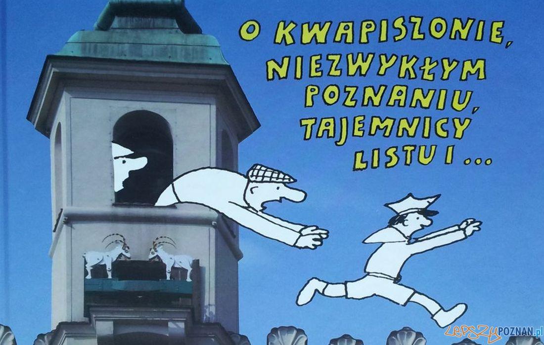 Bohdan Butenko - Przygody Kwapiszona - dobra promocja Poznania  Foto: Wydawnictwo Miejskie Posnania